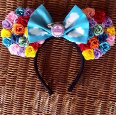 Up - Minnie Mouse Disney Ears                                                                                                                                                                                 More