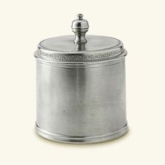 Pewter Canisters by Match Pewter