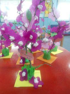 spring Crafts For Kids, School, Spring, Diy, Ideas, Manualidades, Crafts For Children, Bricolage, Schools