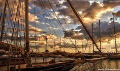 Sunset...marina Kalamatas