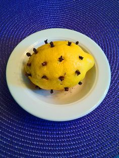 Lemon With Cloves Will Repel Flies and Mosquitos! Enjoy your summer without living with flies, mosquitos and little fruit flies. It's so simple!