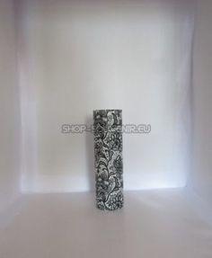 Vaza din sticla este decorata manual, prin tehnica decorativa a servetelului. Este rezistenta la apa, astfel încât nu serveste doar ca decor ci pote fi întrebuințata. Inaltimea de 30 cm. La cerinta clientului se pot realiza cu alte modele florale sau cu motive traditionale. Floral, Shopping, Jars, Florals, Flower, Flowers