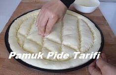 Pamuk Pide Tarifi - İyi Hobi Homemade Beauty Products, Iftar, Pain, Camembert Cheese, Cooking, Desserts, Recipes, Home Made, Recipe
