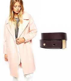 Look Slimmer With This 1 Easy Coat Trick via @WhoWhatWear