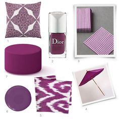 Some beautiful purple accessories