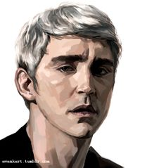 Lee pace with Thranduil hair color.I'm trying to keep drawing once a day cos' I have no social life.  Also update: the blog what sent me the virus fanmail was not spam. They are victims of virus too. Sorry for my misunderstanding(_ _;;;)