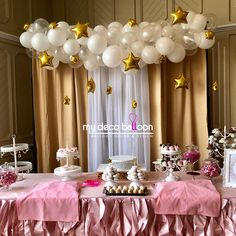 Twinkle Twinkle little star, ONE year old is what you are ✨ 💖 #mydecoballoon #balloonsnj #balloonsnyc #balloongarland #twinkletwinklelittlestar #firstbirthday