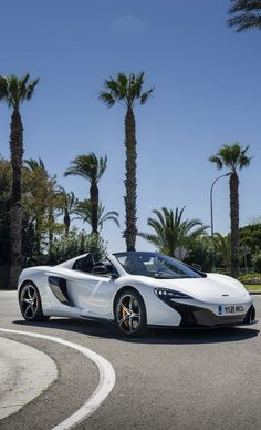 McLaren 650s (the face lift looks the best with the headlights running)