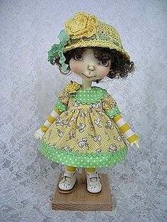 For Sprockets, Connie Lowe Sprocket, Yellow Cat Dress n Hat, made by Ulla
