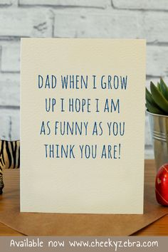Funny as you Fathers Day Letters, Funny Fathers Day Quotes, Happy Father Day Quotes, Funny Fathers Day Card, Fathers Day Crafts, Happy Fathers Day, Husband Quotes, Father's Day Card Messages, Fathers Day Messages