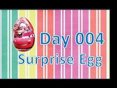 ▶ Day 004 surprise egg kinder disney pixar cars2 - YouTube https://www.youtube.com/channel/UCmVhLl77HWdAy5E5bbYhUdw