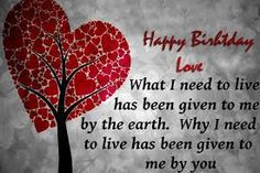 97 Romantic and Happy Birthday Wishes for Husband - Page 7 of 10 Happy birthday, Love. Wishes For Husband, Birthday Wishes For Girlfriend, Birthday Wish For Husband, Birthday Wishes For Myself, Boyfriend Birthday, Happy Birthday Love Quotes, Happy Birthday Images, Happy Birthday Wishes, Birthday Quotes