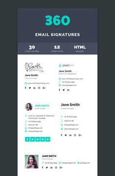 Email Signature Generator  Create Email Signature Templates