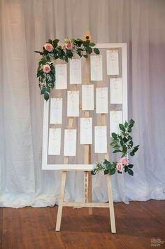 plan de table qu'on avait vu ensemble. les fleurs ne sont pas obligatoires, a voir en fonction du budget global