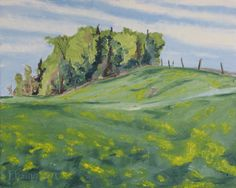 http://francoisfournierart.com/    This plein air oil painting present a spring scenery of the Appalachian, in Quebec Canada. Original Plein Air Landscape Oil Painting by Fournierpainter, $550.00