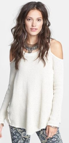 Free People 'Sunrise' Cotton Pullover - Blogs inspired