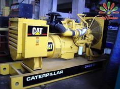 CAT's diesel generators' product line comes with varying power ranges to select from