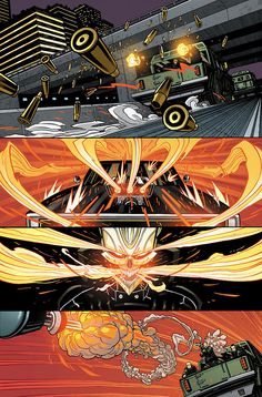 Felipe Smith & Tradd Moore tell CBR about making teen mechanic Robbie Reyes the new Spirit of Vengeance in Marvel's 'All-New Ghost Rider' ongoing series. Ghost Rider 2, Ghost Rider Marvel, Marvel E Dc, Marvel Heroes, Marvel Characters, Marvel Universe, Captain Marvel, Comics Illustration, Illustrations