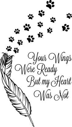 Commemorative quote for vinyl stickers - for pets - Commemorative quote for vinyl stickers – for pets - Dog Tattoos, Cat Tattoo, Body Art Tattoos, Vinyl Tattoo, Tattoos Skull, Souvenir Animal, Tattoo Silhouette, Stickers, Pet Loss Grief