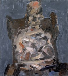 Frank Auerbach - technically, NOT an abstract expressionist.