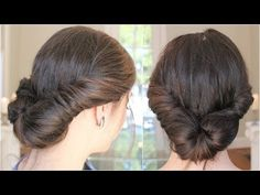 5-minute romantic updo