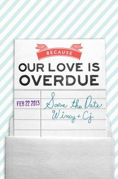 Wincy + Cj Save The Date