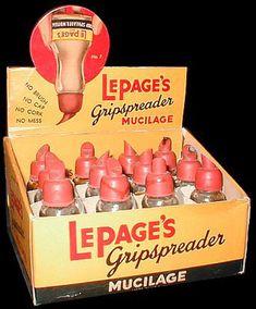 Mucilage glue
