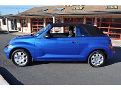 Blue Pt Cruiser Convertible