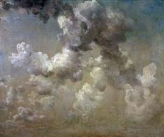 John Constable    Study of Clouds