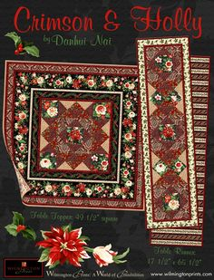 Crimson & Holly Project free pattern