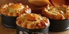 Country Chicken and Mushroom Pies Sour Cream Pastry Maggie Beer
