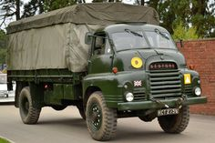 A Bedford RL and they were the British military's main medium truck for decades. Originally developed for the civilian market in the 1950's, the British military acquired a large number of these vehicles and used for everything from Troop Carrier to mobile command centers and even ambulances.   So rugged were these trucks that they remained in service for many decades, well into the 1990s. Before they were gradually phased out and retired.