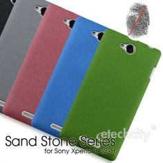 Sand Stone Series #Anti-Fingerprint #PC Case for #Sony Xperia C S39H [PCAF-SNCS39H] - $15.00