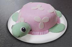 Pastel con forma de tortuga. Hecho en Tere Cazola :)
