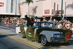 Walt Disney as Grand Marshall of the Tournament of Roses Parade