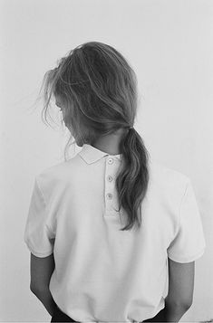La Garconne Atelier No.III - Embroidered Polo by Maison Kitsuné | Crepe Sky Skirt by Maison Kitsuné