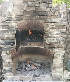 Brick Oven Outdoor, Outdoor Fireplace Patio, Outdoor Stone Fireplaces, Outdoor Kitchen Grill, Outside Fireplace, Outdoor Kitchen Cabinets, Pizza Oven Outdoor, Outdoor Cooking, Outdoor Kitchens