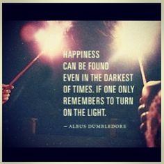 Harry potter quote.  #optimistic