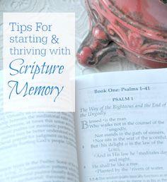 how to memorize scripture blog