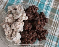 Chocolate Covered Peanut Clusters - Chocolate Chocolate and More!