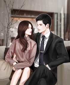 Please visit our website to support us! Cute Couple Drawings, Cute Couple Art, Anime Couples Drawings, Anime Couples Manga, Love Cartoon Couple, Manga Couple, Anime Love Couple, Romantic Anime Couples, Romantic Manga
