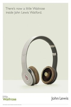 John Lewis: Headphones http://adsoftheworld.com/media/print/john_lewis_headphones