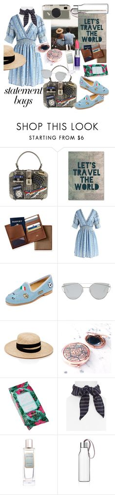 """""""the whole world in my hand"""" by kanares ❤ liked on Polyvore featuring Trademark Fine Art, Mark & Graham, Chicwish, Del Toro, Gentle Monster, Janessa Leone, Charlotte Russe, Vanessa Mooney, Laura Mercier and Eva Solo"""
