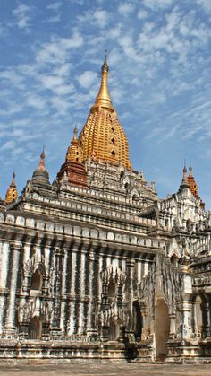 Bagan is home to incredible stupas including the iconic Ananda Temple.