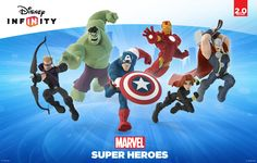 In addition, all characters and power discs from last year's release of Disney Infinity will be compatible with the Disney Infinity: Marvel Super Heroes Toy Box. Description from allgamesbeta.com. I searched for this on bing.com/images