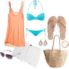 """Weekend Escape"" by coastalstyleblogspot on Polyvore"
