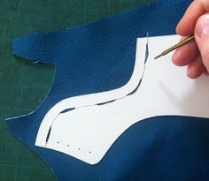 MAKING SHOES : 6 Best Value Shoe Pattern Making Tips for 2014 that I Use Every day