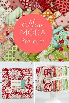 Craftsy LOVES Moda! That's why we work to always provide you the best, newest designs at affordable prices. Shop moda pre-cuts and more on Craftsy today and you'll be on your way to finding the perfect fabric for your next quilting project.