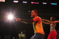 Prague Corny Events, on stage with Alejandro Angulo