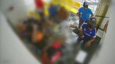 Vídeo mostra ação ousada de ladrões em cartório na Zona Norte do Recife